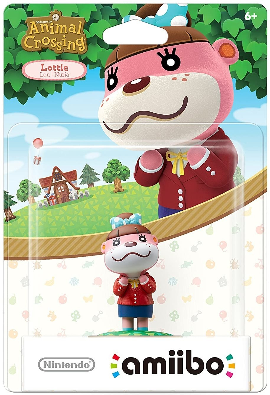 Animal Crossing Series: Интерактивная фигурка amiibo – Lottie