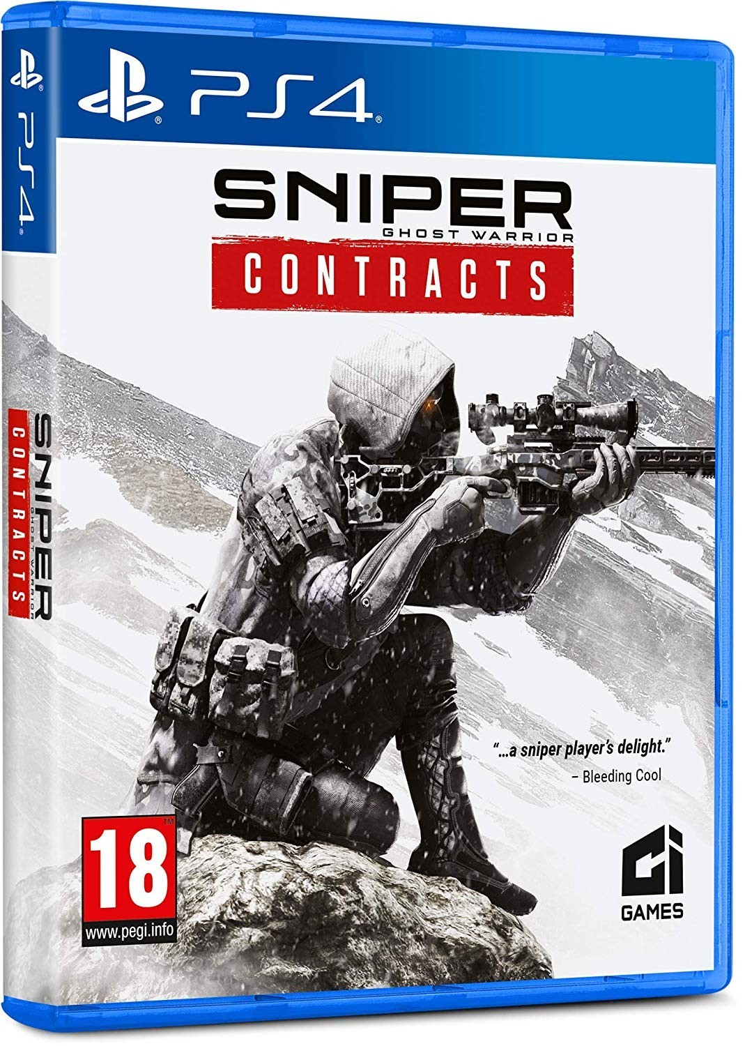 Sniper Ghost Warrior Contracts б/у PS4