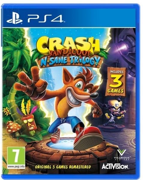 Crash Bandicoot N'sane Trilogy б/у PS4