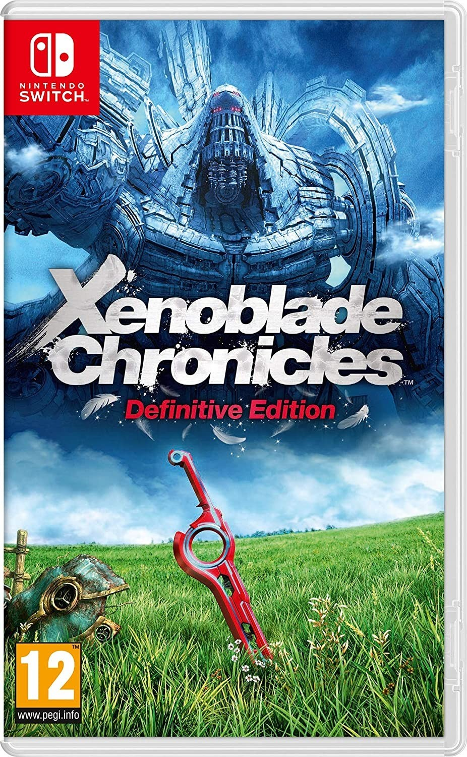 Xenoblade Chronicles Definitive Edition б/в SWITCH
