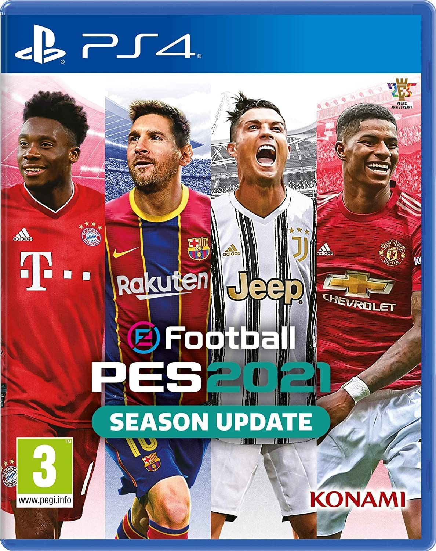 eFootball PES 2021 Season Update б/в PS4