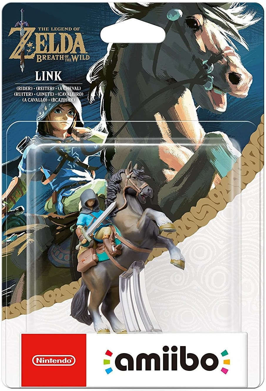 The Legend of Zelda Breath of the Wild: Интерактивная фигурка amiibo – Link [RIDER]