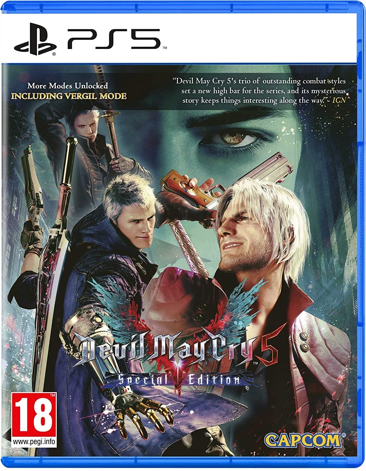 Devil May Cry 5 Special Edition | DMC5 б/в PS5