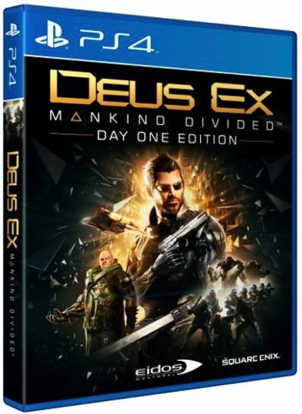 Deus Ex Mankind Divided Day One Edition б/у PS4