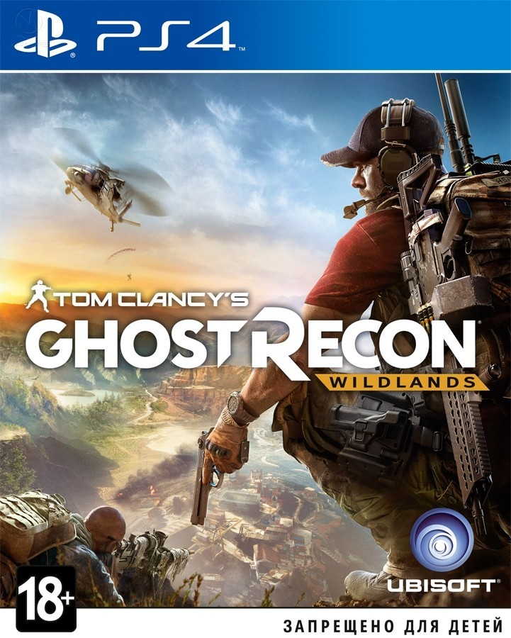 Tom Clancy's Ghost Recon Wildlands б/у PS4