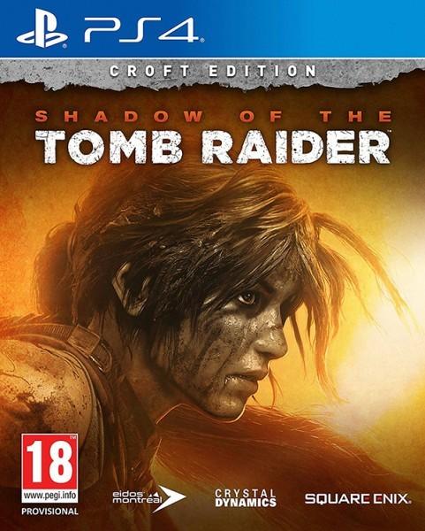 Shadow of the Tomb Raider Видання Croft б/в PS4