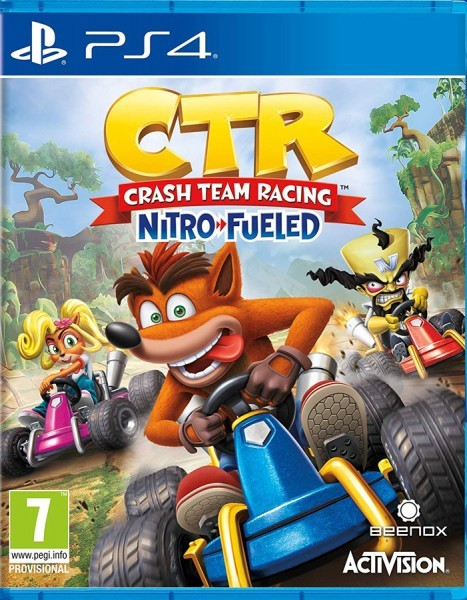 Crash Team Racing Nitro-Fueled б/у PS4
