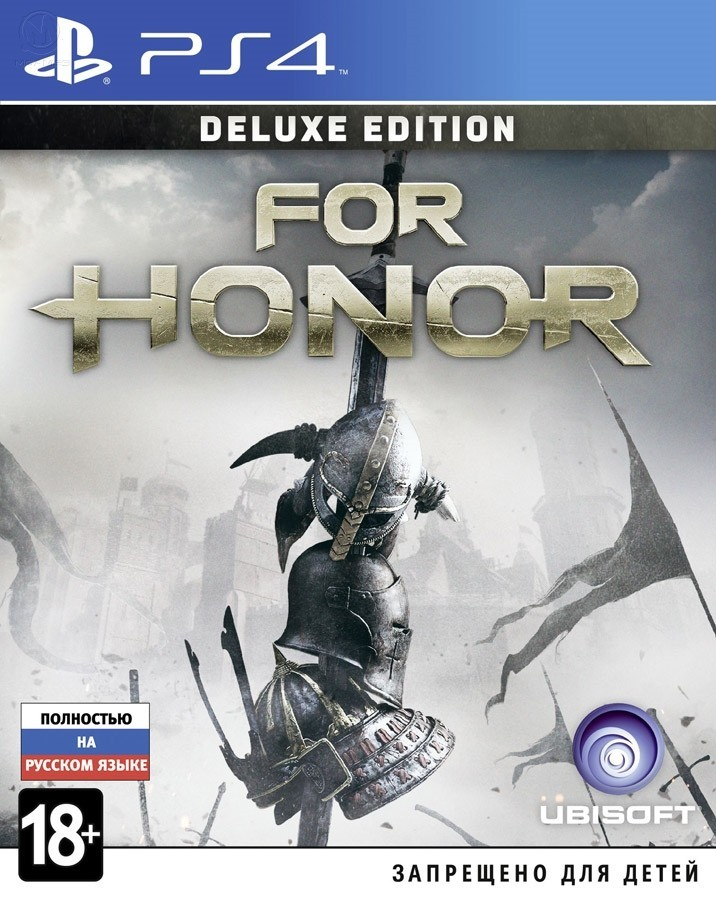 For Honor. Deluxe Edition б/у PS4