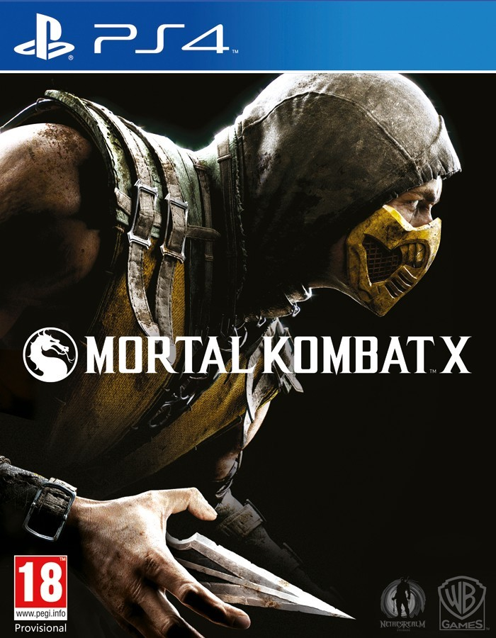 Mortal Kombat X б/у PS4