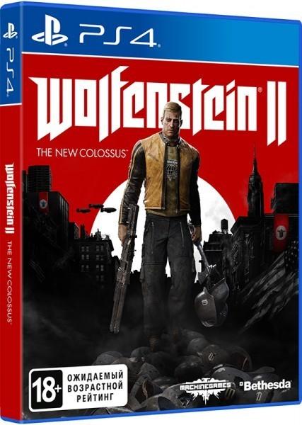 Wolfenstein II: The New Colossus б/у PS4