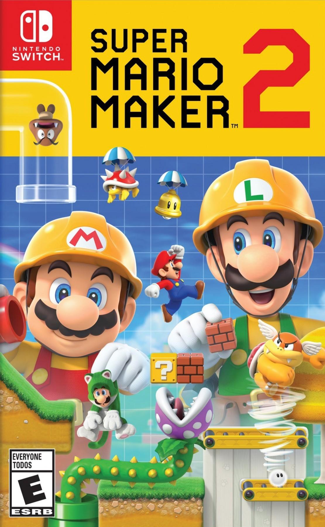 Super Mario Maker 2 б/в switch