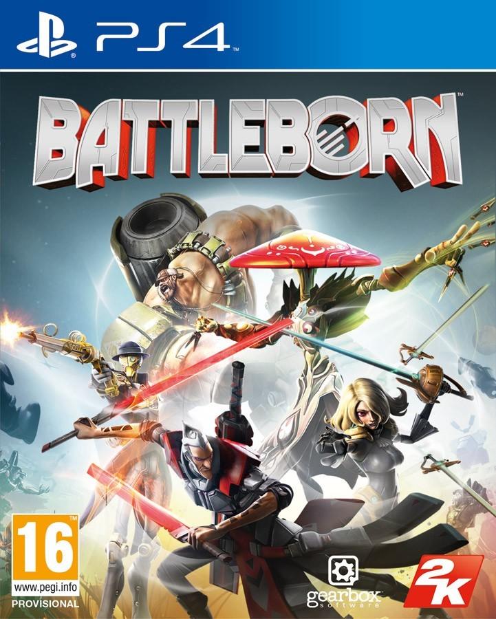 Battleborn б/в PS4
