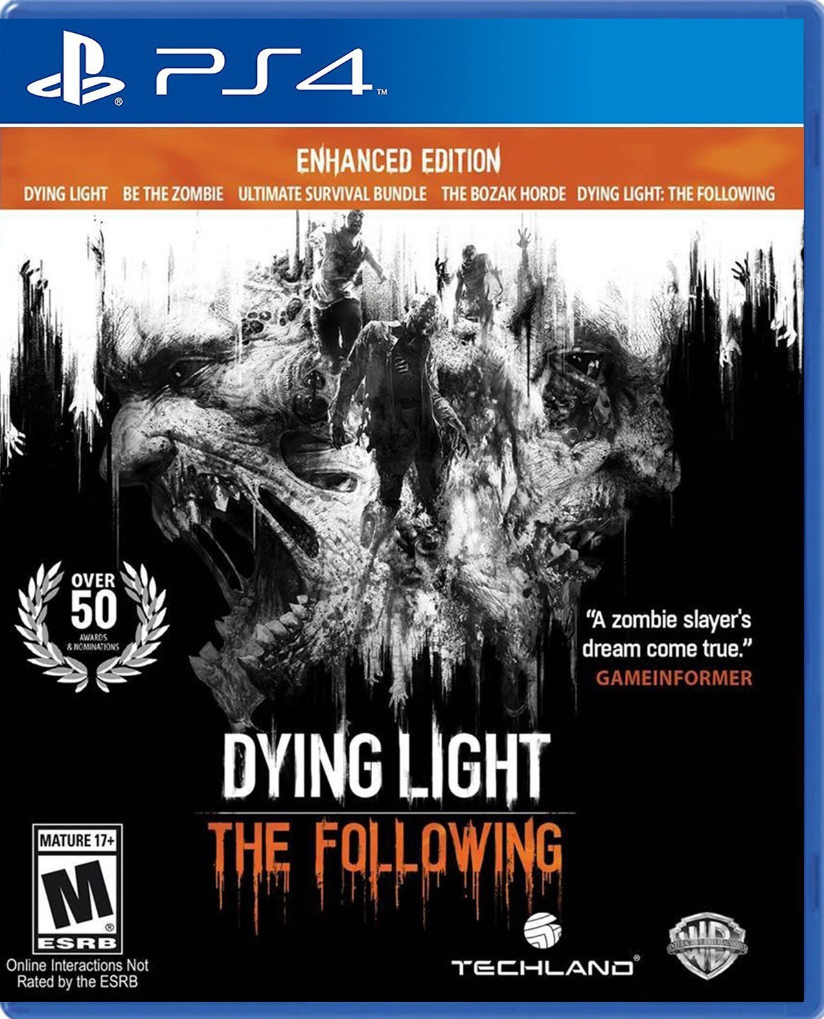 Dying Light: The Following б/в PS4