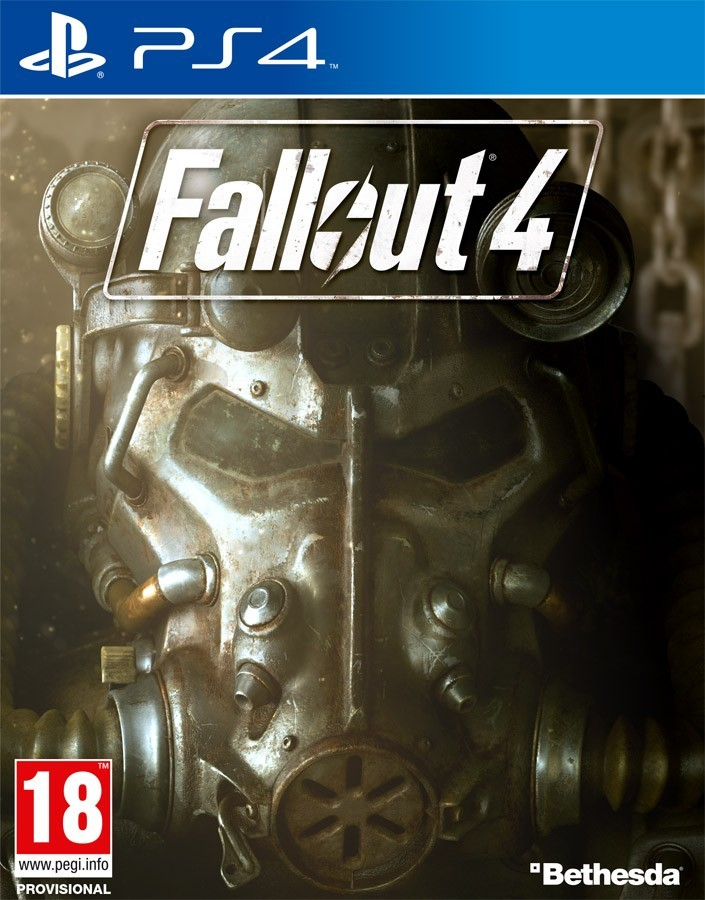 Fallout 4 рус. б/у PS4