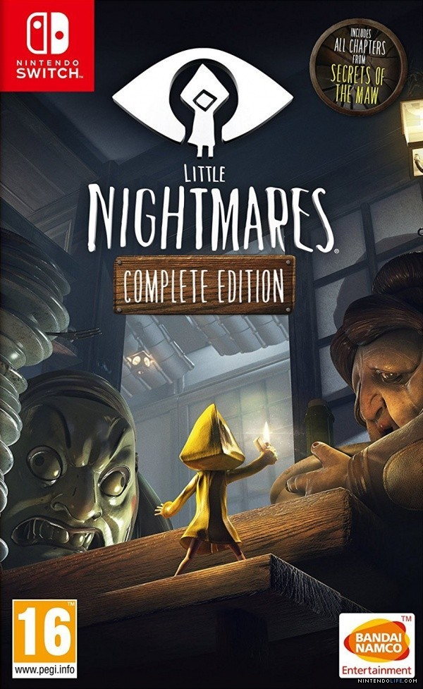 Little Nightmares Complete Edition б/в SWITCH