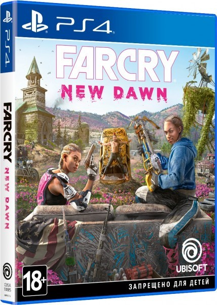 Far Cry New Dawn б/у PS4