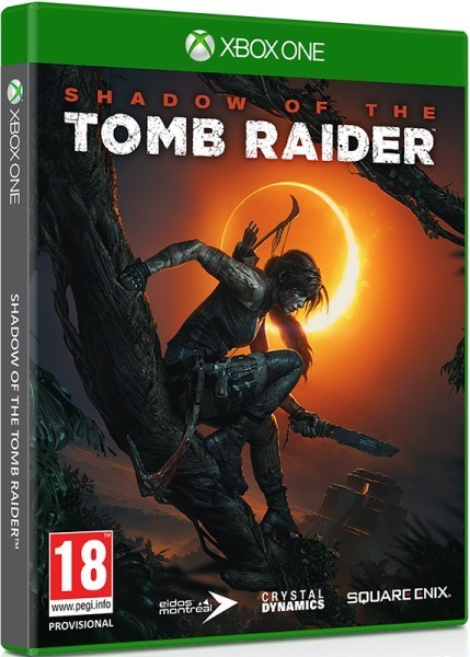 Shadow of the Tomb Raider б/у XONE