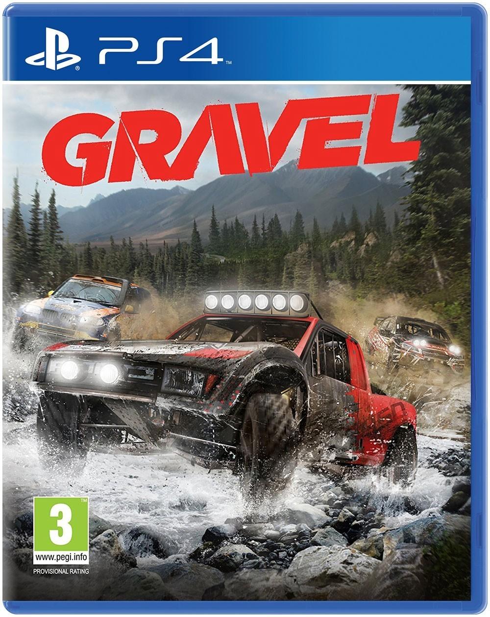 Gravel б/в PS4
