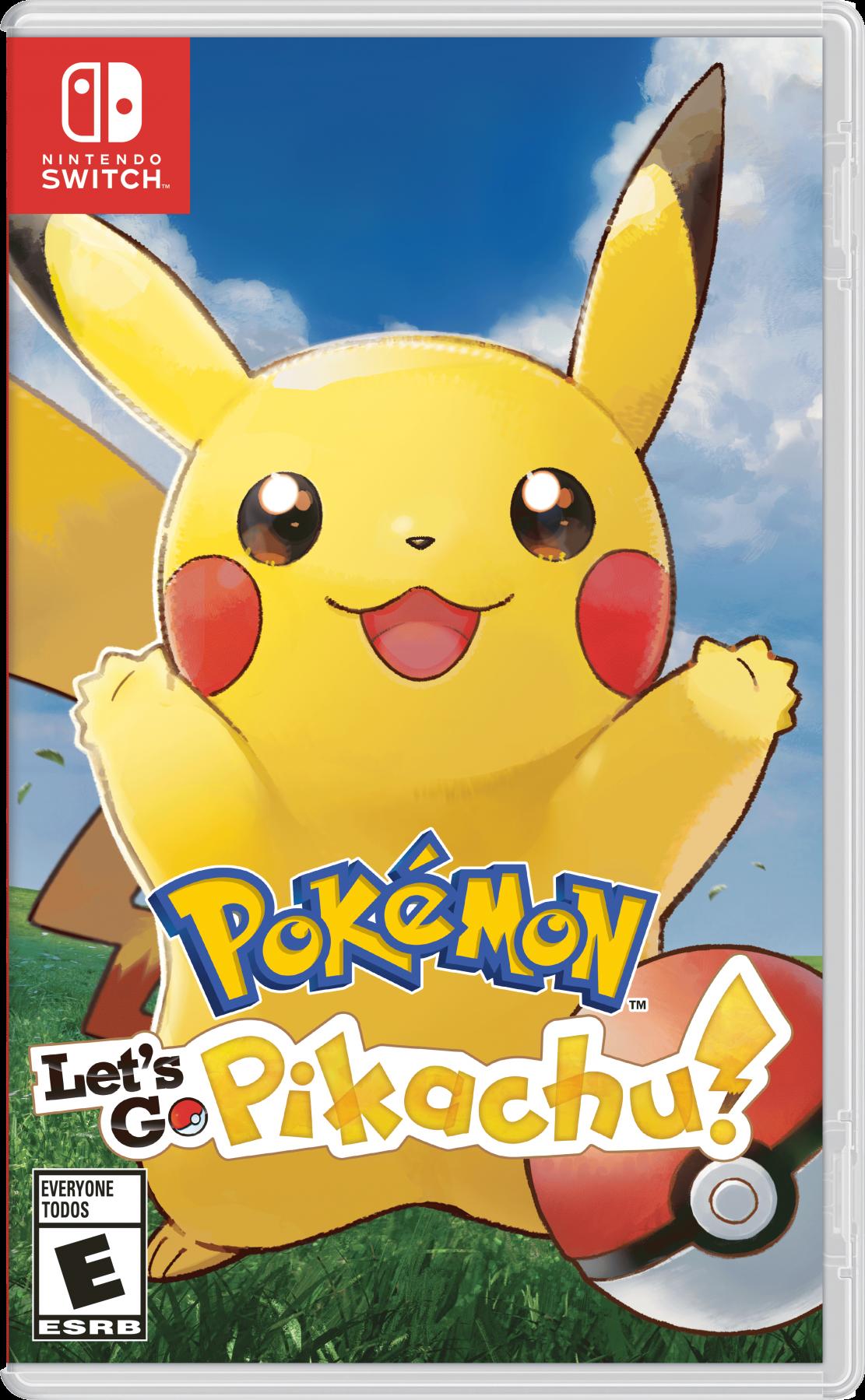 Pokémon Let's Go Pikachu! б/у switch
