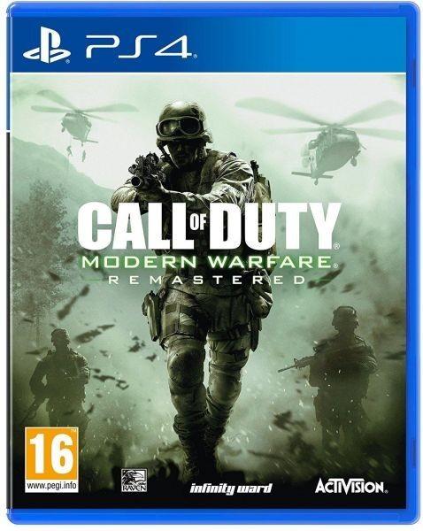Call of Duty Modern Warfare Remastered б/в PS4