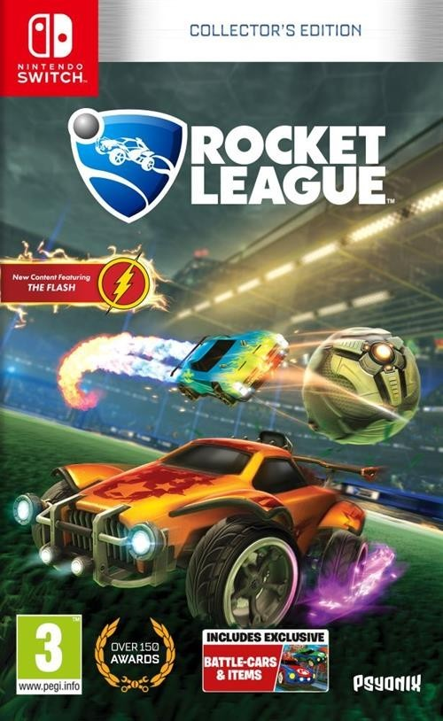 Rocket League Collector's Edition б/в SWITCH