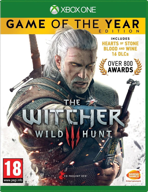 Ведьмак 3 Дикая Охота Издание Игра года | The Witcher 3 Wild Hunt б/у XONE