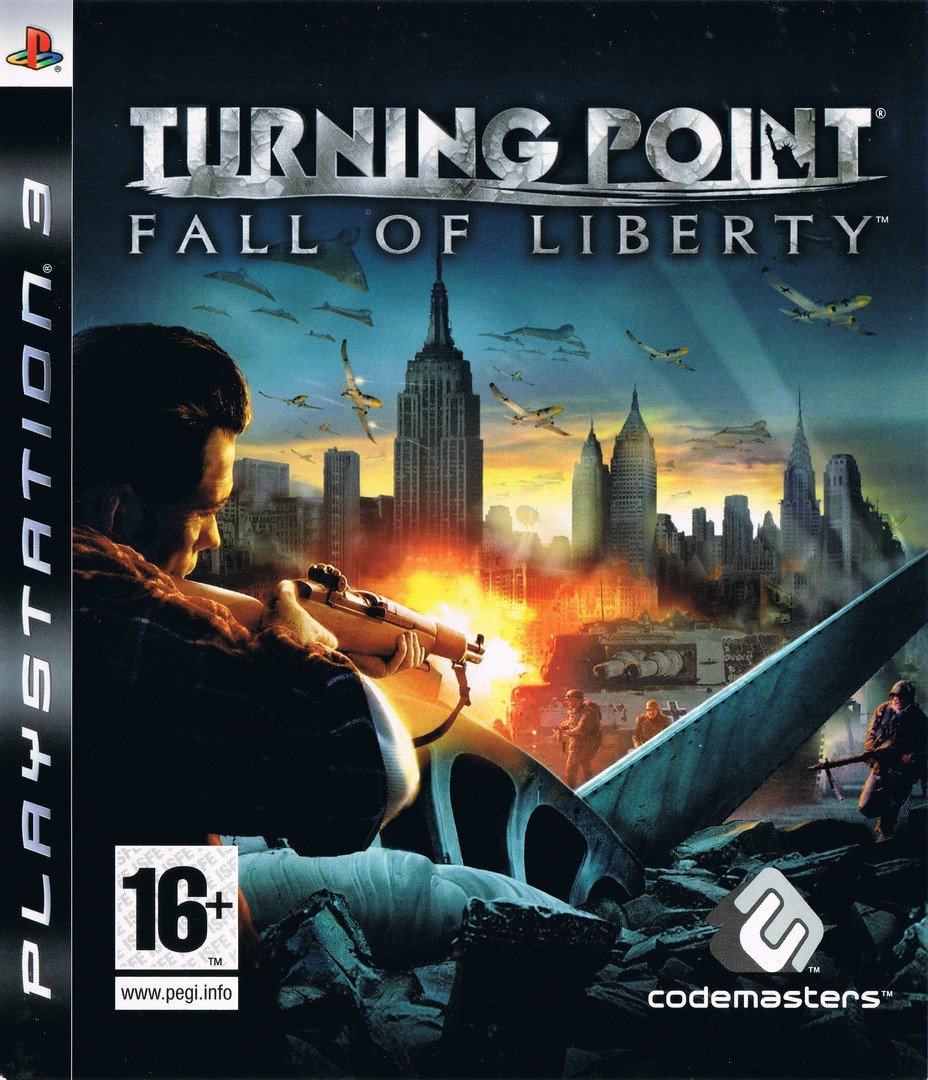 Turning Point Fall of Liberty б/в PS3