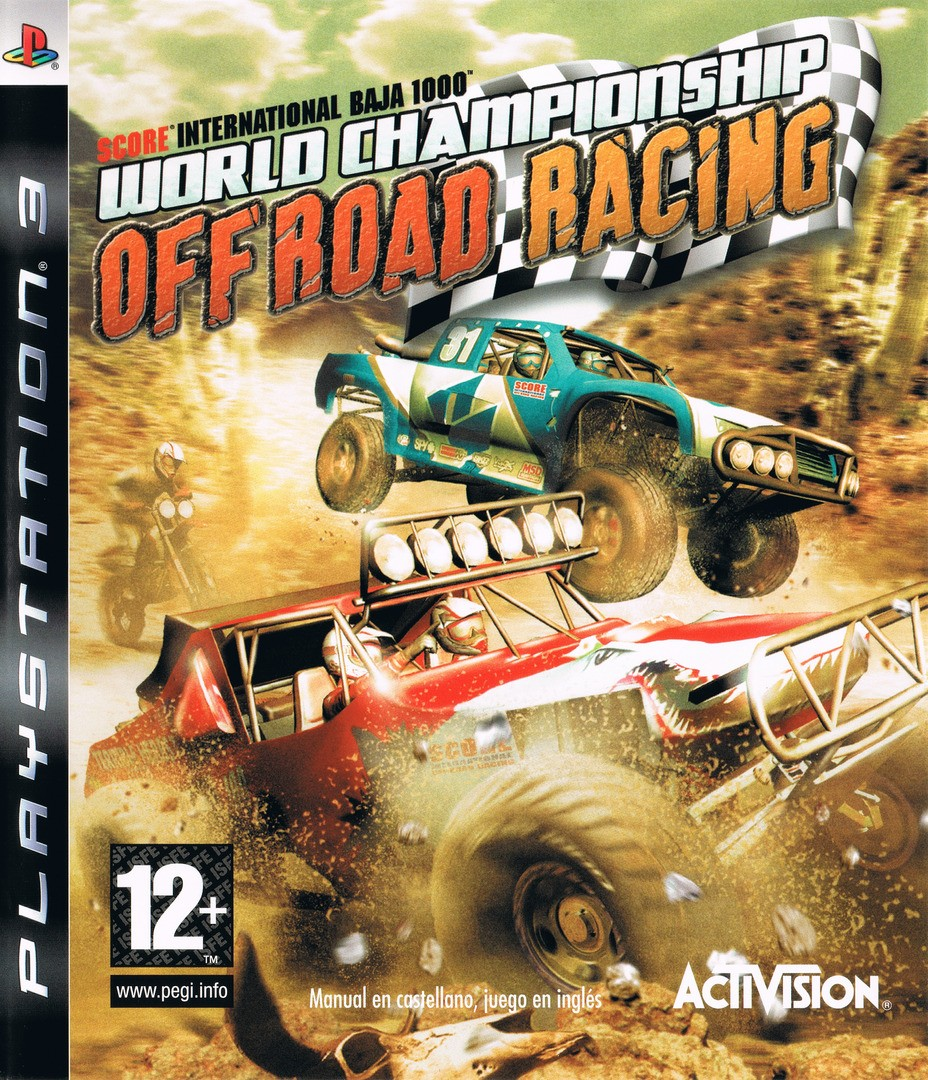 SCORE International Baja 1000 World Championship Off Road Racing б/у PS3