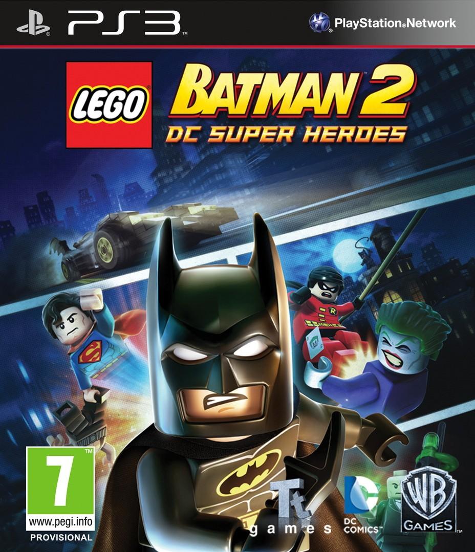 LEGO Batman 2 DC Super Heroes   LEGO Бэтмен 2 б/у PS3