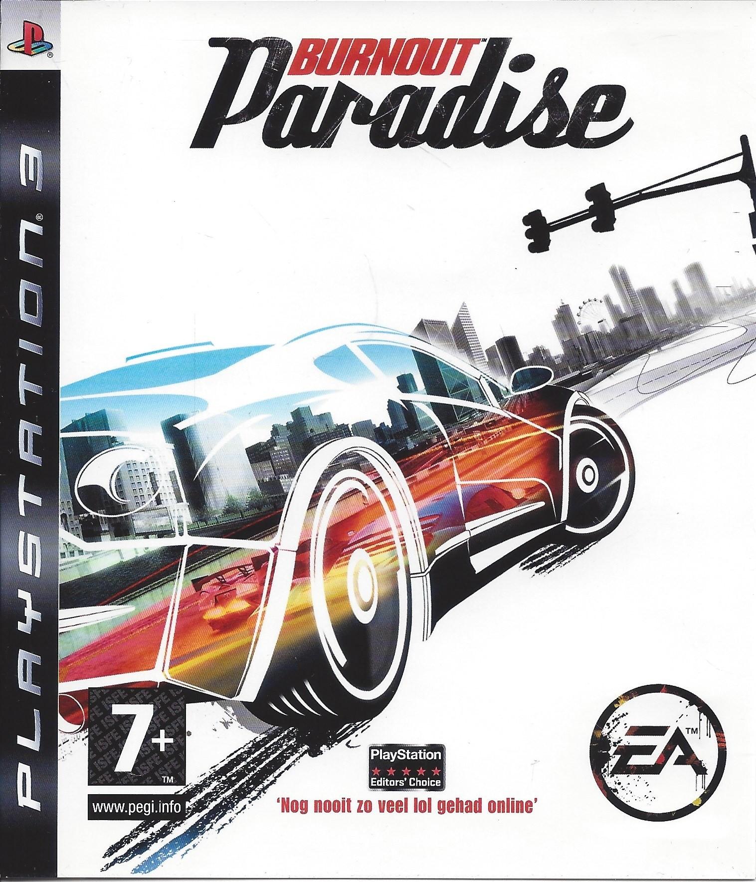 Burnout Paradise б/у PS3