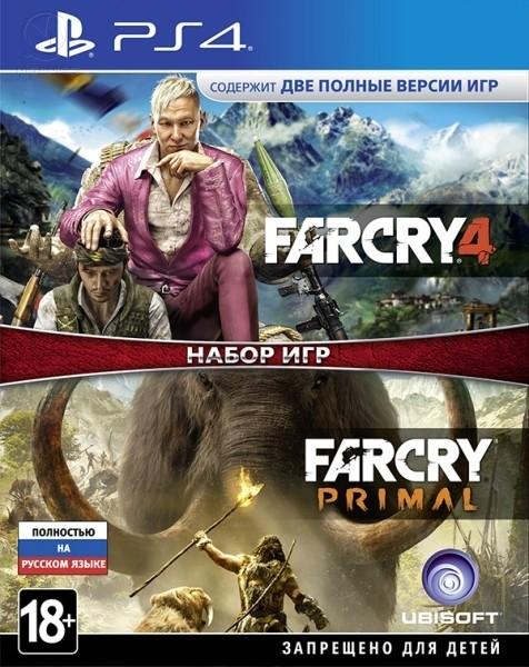 Комплект игр Far Cry 4 + Far Cry Primal PS4