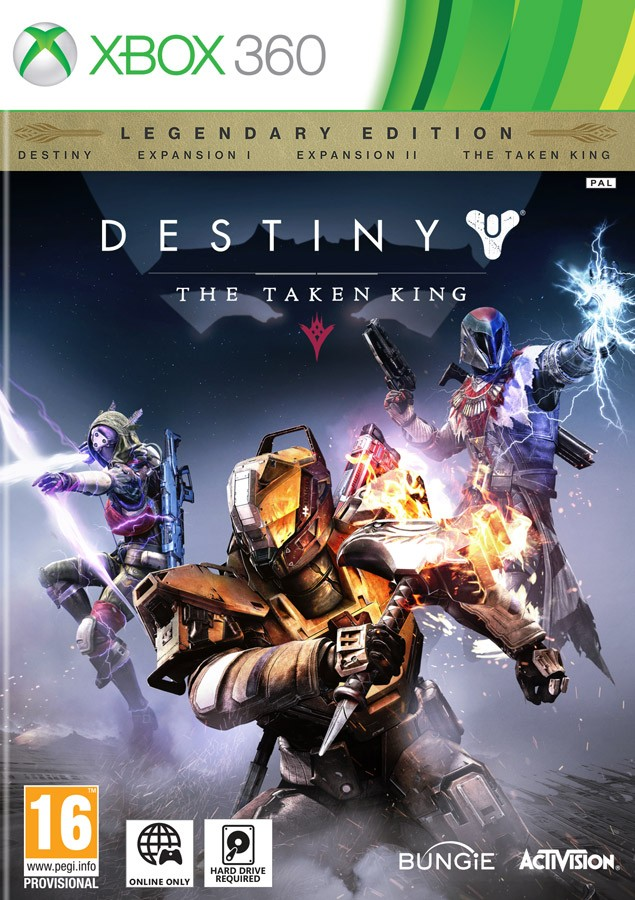 Destiny The Taken King Legendary Edition X360