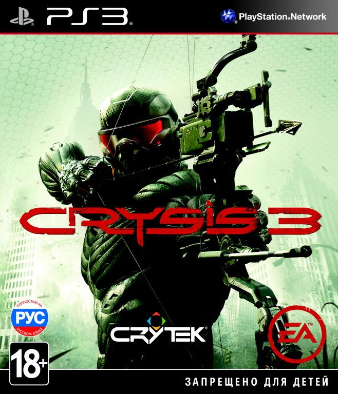 CRYSIS 3 б/у PS3