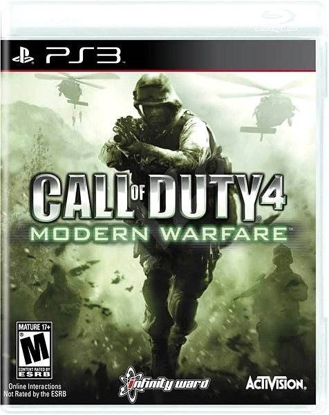 Call of Duty 4 Modern Warfare б/у PS3