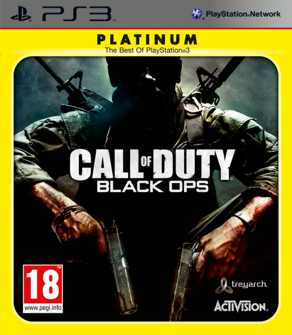 Call of Duty Black Ops Platinum б/у PS3
