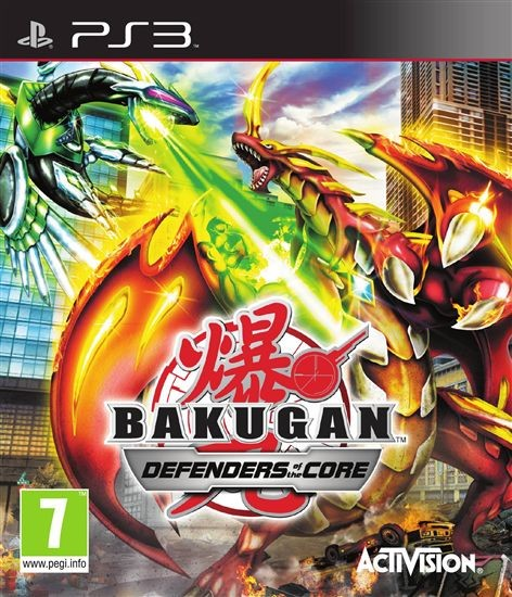 Bakugan Battle Brawlers: Defenders of the Core б/в PS3