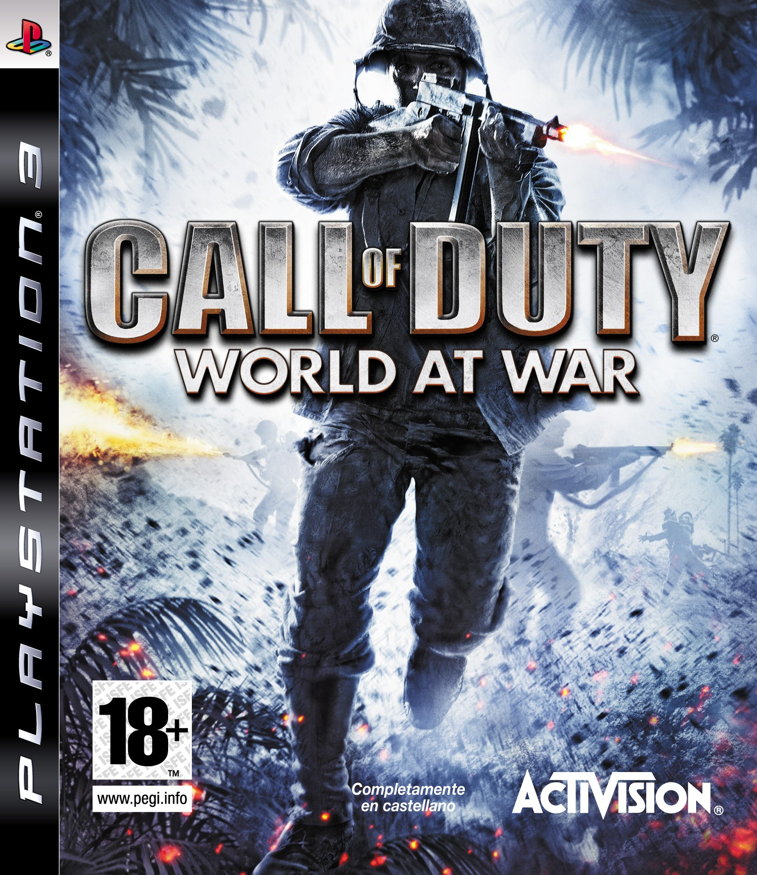 Call of Duty World at War б/в PS3