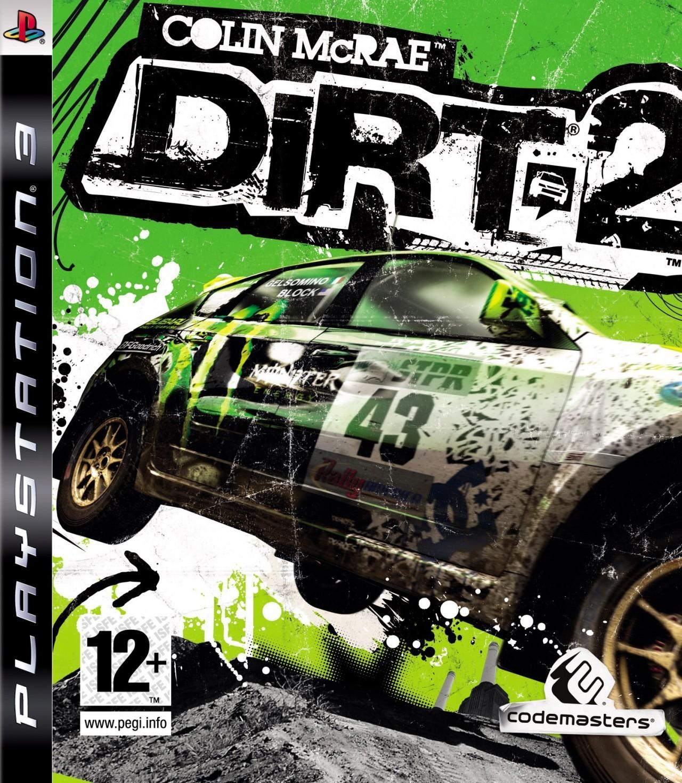 Colin McRae Dirt 2 б/у PS3