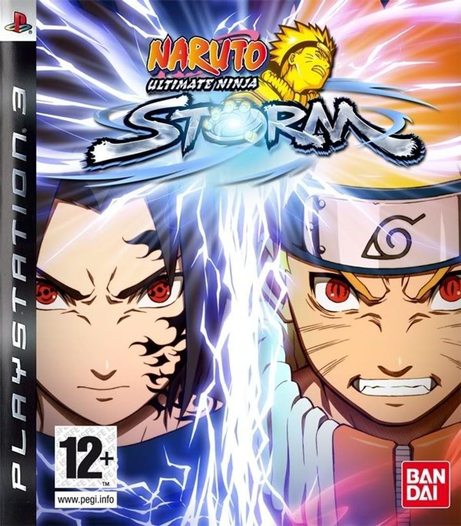 Naruto Ultimate Ninja Storm б/в PS3