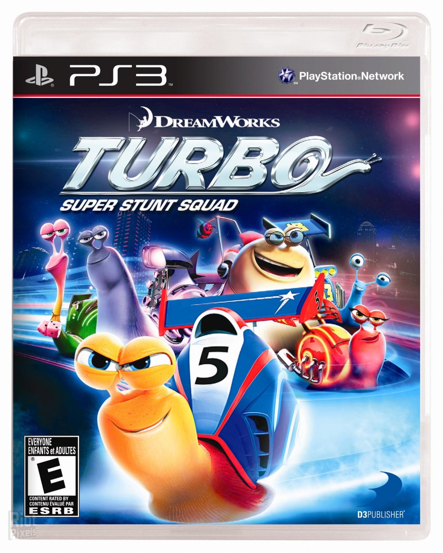 Turbo Super Stunt Squad | Турбо Суперкоманда Каскадерів б/в PS3