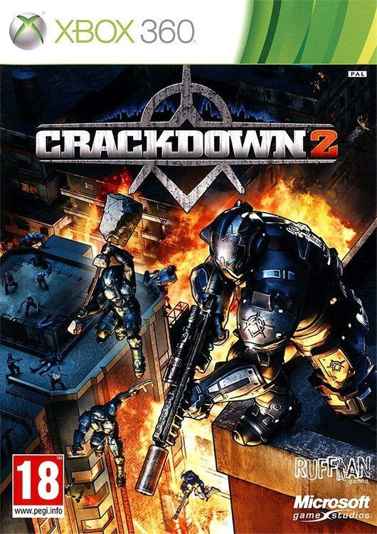 Crackdown 2 б/в X360
