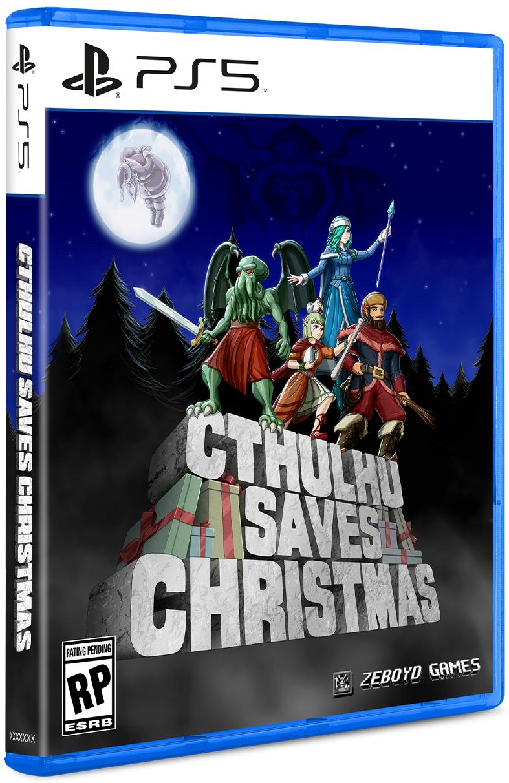 Cthulhu Saves Christmas Limited Run PS5