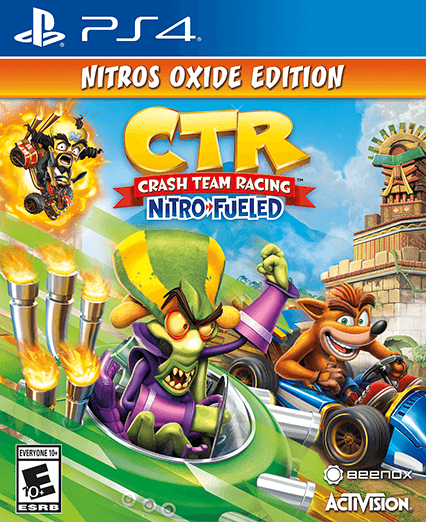 Crash Team Racing Nitro-Fueled Nitros Oxide Edition PS4