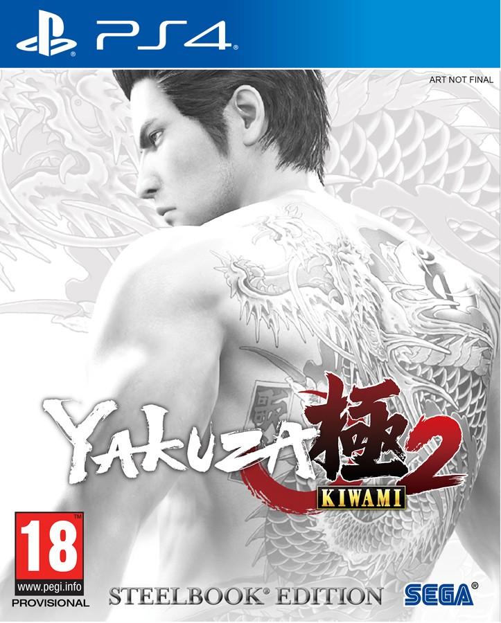 Yakuza Kiwami 2 SteelBook Edition PS4