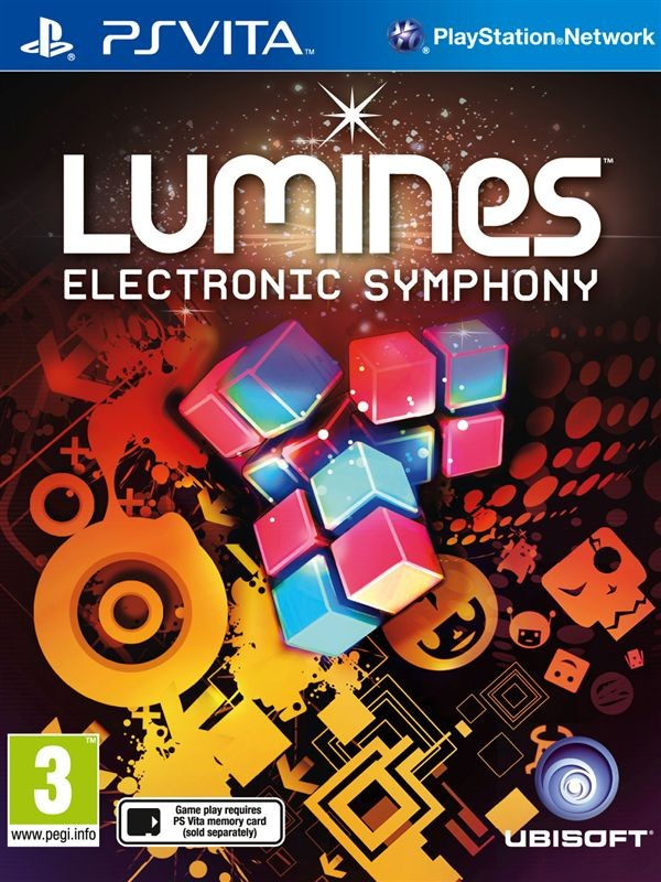 Lumines: Electronic Symphony PSV