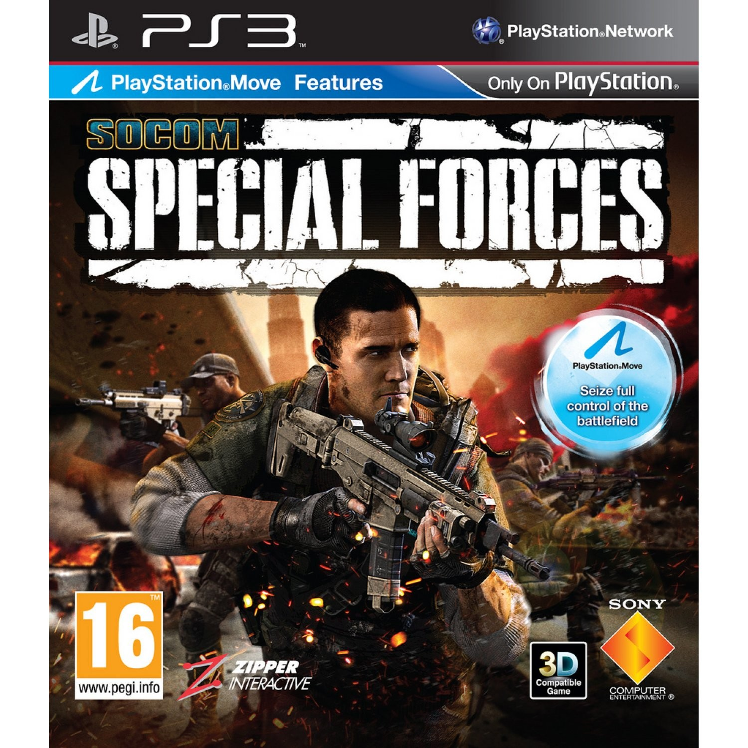 SOCOM Special Forces б/у PS3