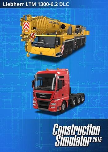 Construction Simulator 2015: Liebherr LTM 1300 6.2 PC DIGITAL