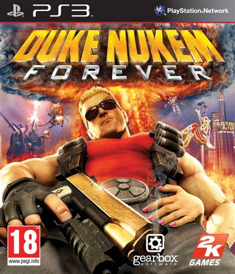 Duke Nukem Forever б/в PS3