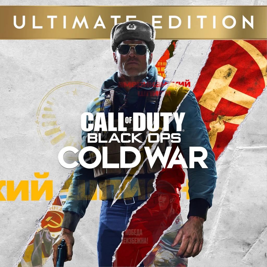 Прокат Call of Duty Black Ops Cold War Ultimate Edition від 7 днів PS4