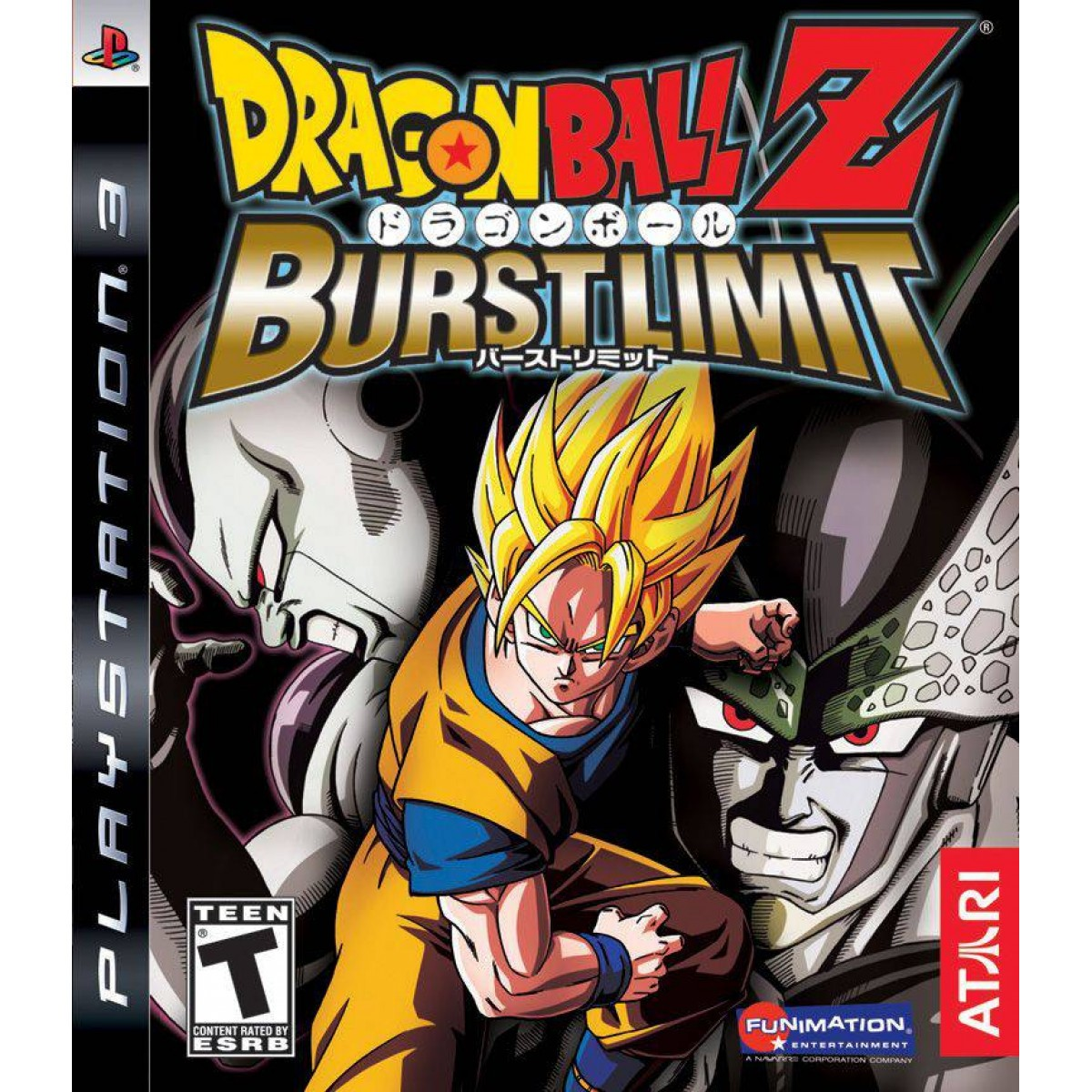 Dragon Ball Z: Burst Limit б/у PS3